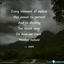every element of nature h quotes writings by heartmood