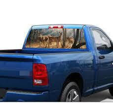 53 1x14 1 Car Pickup Suv Rear Window Decal Animals Forest Sticker Modified Ebay