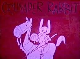 I first watched the 1957 version of Crusader Rabbit on Childrens Theater  with Ray Forrest Saturday mornings on WNBC TV Ch.4 i… | Classic cartoons,  Cartoon, Crusades