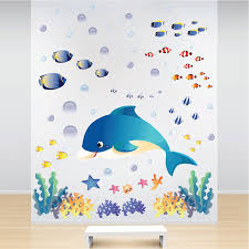 Under The Sea Wall Decals Fish Bedroom Stickers Primedecals