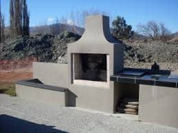 bbq outdoor fireplace