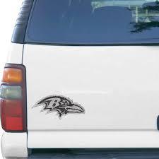 Baltimore Ravens Bling Emblem Car Decal