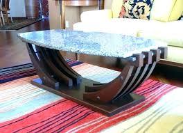beach coffee table decor