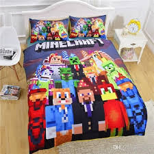 minecraft the carnival bed set