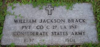 Capt William Jackson Brack (1837-1901) - Find A Grave Memorial