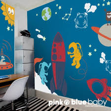Space Wall Decal Kids Wall Decor Playroom Decals Etsy Kids Wall Decals Kids Wall Decor Nursery Wall Decals