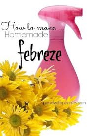 how to make homemade febreze spend