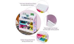 Kids Toy Storage Organizer Children Storage Bins Book Sleeves Playroom Bedroom Groupon