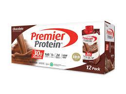 chocolate protein shake premier protein