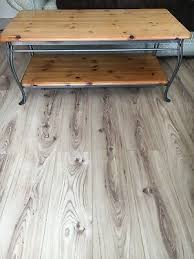 pine glass topped coffee table