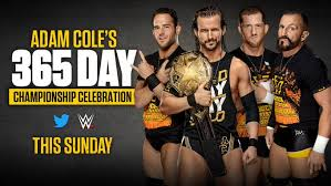 Adam Cole's One-Year WWE NXT Title Reign To Be Celebrated on Sunday