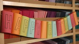 how to make a rolled birthday banner