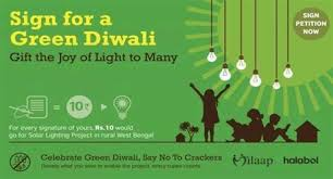go green quotes for diwali
