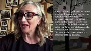Lunetta Savino legge Dorothy Allison - YouTube
