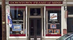 frame of mine showcasing gallery
