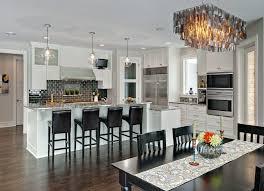 pendant lighting over kitchen
