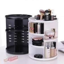 360 degree makeup storage box case