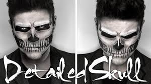 lady a skull makeup