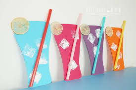 Lemoniada - praca plastyczna dla dzieci | Dla dzieci