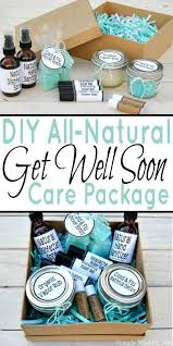 basket gifts diy all natural get well