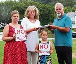 Resident protests over proposed Tesco in Bude | News | Bude & Stratton Post