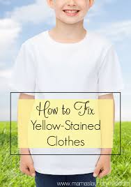 have your white clothes turned yellow