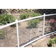 Mobile White Vinyl Fence Dog Fence Vinyl Fence