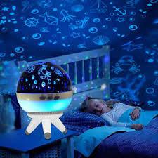 Led Rotating Star Projector Baby Nursery Night Light Kids Room Lighting Romantic Ebay