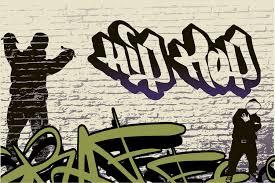 photo wallpaper graffiti hip hop