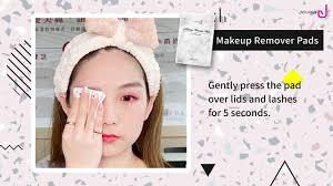 eyelash extensions pva makeup remover