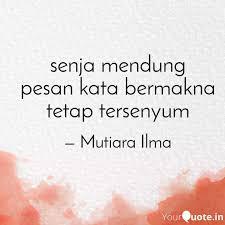 senja mendung pesan kata quotes writings by lin na yourquote