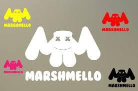 Does Not Apply 2 6 Dj Marshmello Hit Music Decal Vinyl Sticker Car Playstation Gta New S975