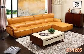 contemporary genuine leather sofa sets