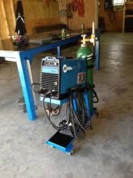 homemade tig welding cart