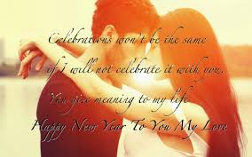 happy new year wishes happy new year to my love hd