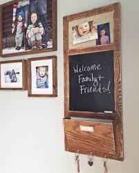 elmer s wall organizer with chalkboard