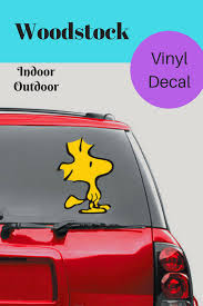 Woodstock Snoopy Vinyl Decal For Car Laptop And More Affiliate Diy Bird Bath Wild Birds Bird Bath Garden
