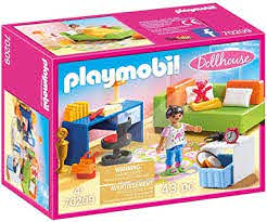 Amazon Com Playmobil Teenager S Room Furniture Pack Toys Games