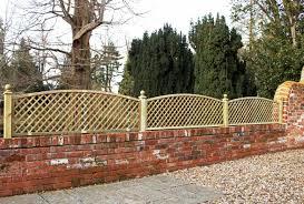 Diagonal Convex Top Trellis Panel Essex Uk The Garden Trellis Company