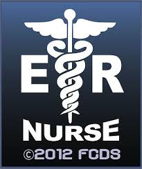Er Emergency Room Nurse Pink Or White Decal For Cars Suv S Trucks 4 95 Picclick