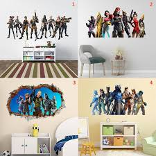 New Gamer Vinyl Wall Sticker For Game Room Decor For Kids Room Decoration Bedroom Decor Door Stickers Removable Mural Poster Geek