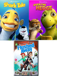 Amazon.com: Oceans Toilets & Hedges Cartoon Movie Set Over the Hedge + Shark  Tale & Flushed Away Nick Parks DVD Dreamworks Animated Family Fun Set: Will  Smith, Kate Winslet, Nick Parks: Movies
