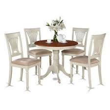 5 Piece Kitchen Table Set Small Kitchen Table And 4 Chairs For Dining Room New 682962631159 Ebay