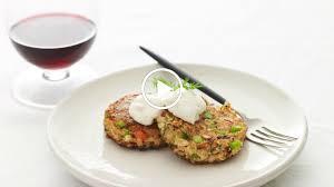 gefilte fish cakes with horseradish