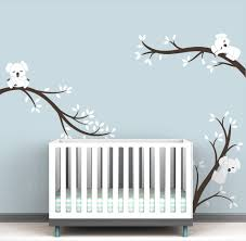 Koala Tree Branches Wall Decal Pure Collection Littlelion Studio