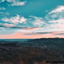 beautiful mountain view whatsapp dp