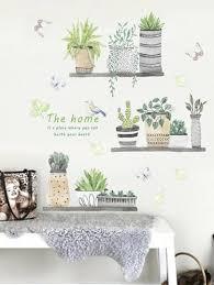 蝴蝶鏡牆貼25件套 Shein台灣 In 2020 Wall Stickers Home Decor Living Room Ornaments Diy Wall Decals
