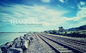 thankful new year christian