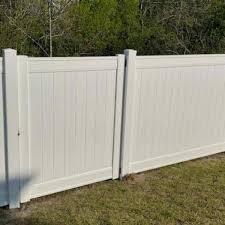 224 Linear Feet Of Vinyl Fencing 4 Fenceline Plus Inc