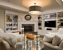 corner fireplace design with built in